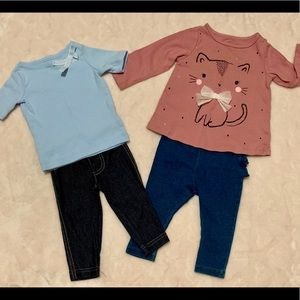 2 Baby Girl Outfits